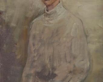 Portrait, 46x24.8 inches