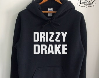 Drake Hoodie Drake Sweater Drake Sweatshirt Drake Fleece Drake Merch Drizzy Drake Shirt Crewneck Women Girls Men Black/Grey/Navy XS-2XL
