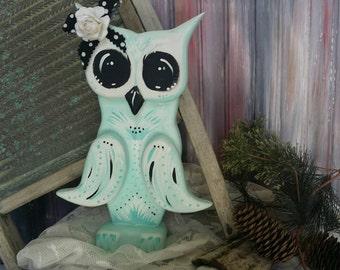 Owl office decor Etsy