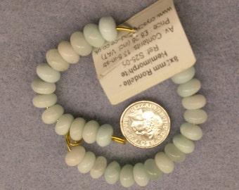 Hemimorphite 5mm x 8mm beads semi precious beads