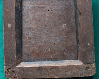 Antique Wooden Black & White Contact Print Frame 1910s/Darkroom Equipment