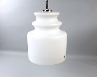 Vintage Peill & Putzler lamp opal Ceiling lamp white West Germany 70s