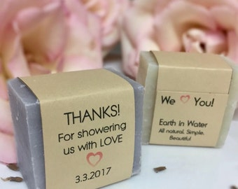 Wedding Shower Soap Favors, Baby Shower Favors, Wedding Favors, Shower giveaways, soap favor, Thank you gifts