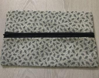 Leaf Makeup Bag or Pencil Case