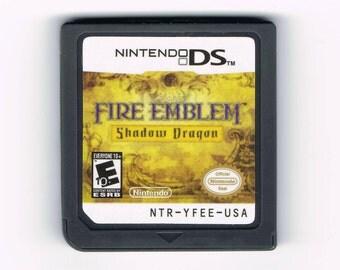 Fire Emblem: Shadow Dragon Nintendo DS Custom Reproduction Cartridge Cart - Free Shipping!