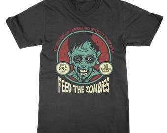 Feed the Zombies charity appeal t-shirt
