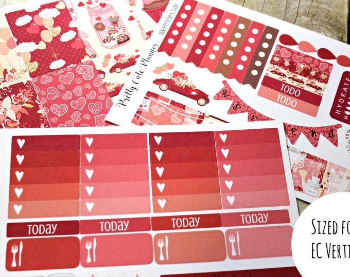 Planner Stickers - Valentine's Day - Valentines Planner Stickers - Erin Condren - Happy Planner -Day Designer - Functional stickers