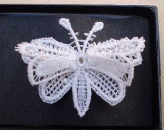 Hand Crocheted Vintage Pin