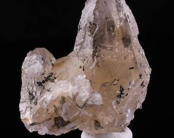 7.5cm Light SMOKEY QUARTZ from North Carolina - Natural Quartz Crystal Specimen, Healing Crystal, Raw Crystal Point, Raw Quartz Point 6934