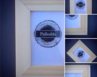 Picture Frame, Wood Picture Frame, Rustic Picture Frame, Reclaimed Wood Picture Frame by Pallodds (Hardware Included)