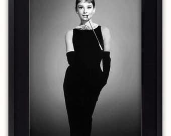 Audrey Hepburn - Little Black Dress Poster