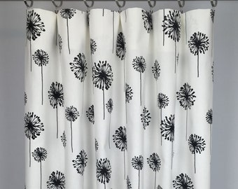 dandelion curtains free shipping drapery panels rod pocket drapes grommets lined