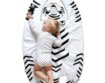 Tiger Blanket Etsy
