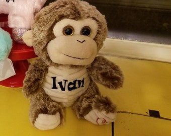 Monkey, Plush , Customized
