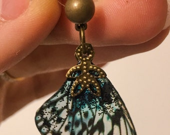 Butterfly wings earrings in lots of colors!