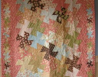 Springtime Pinwheels Quilt