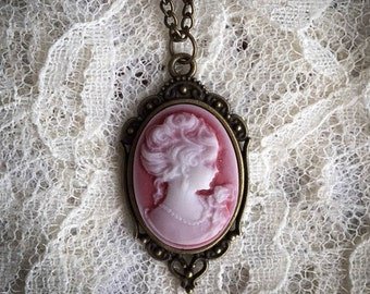 Victorian Inspired Cameo Necklace