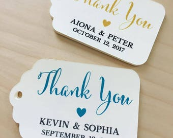 Thank You Favor Tags,THANK YOU Wedding Favor Tags,Wedding Favor Tags,Bridal Shower Favor Tags,Custom Favor Tags,Thank you Tags