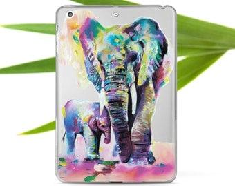 Elephant iPad Case iPad Custom Case Animal Case i000