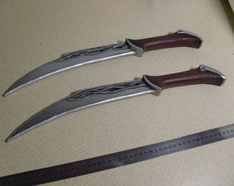 Custom made - The Hobbit: Tauriel Twin Daggers/ Tauriel Swords