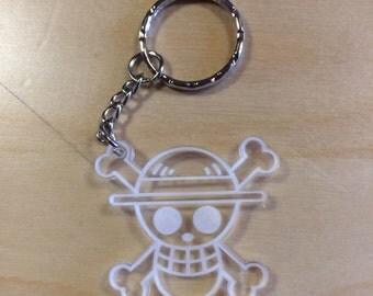 ONE PIECE Plexiglas keychain