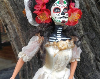 Day of the Dead Bride Doll