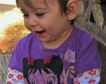 Baby Girl Headband - Toddler Girl Headbands, Toddler Headband, Boho Headband, Flowers Headband, Boho Baby Headband, Headbands Toddler