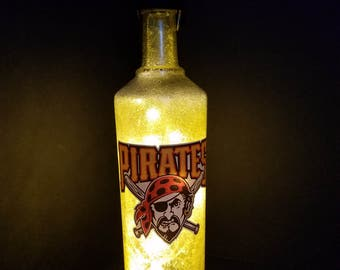 Pittsburgh Pirates led bottle light