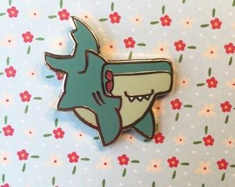Hammerhead Shark - Hard Enamel Pin