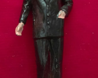 """Lyndon Johnson VINTAGE MARX US Presidents #36 painted figure 2.75""""- 1960's"""