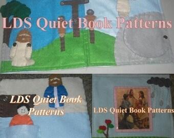 Quiet Book Patterns - LDS Quiet Book Patterns - Jesus Bundle