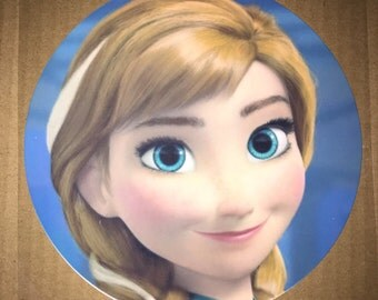 Imperfect *DISCOUNTED* Anna Frozen Edible Image