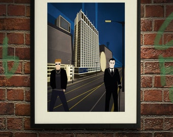 The Greyhound - A2 Poster Print