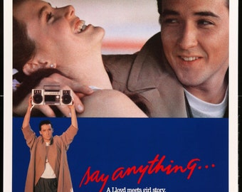 """Say Anything (1989) One Sheet Movie Poster - 27""""x 41"""""""