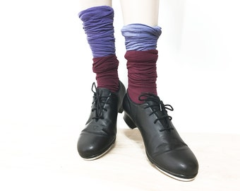 Bloch Adult Lace Up Tap Shoes / Matte Black Tap Shoe / Jazz Style Shockwave Tap Dancing Shoes For Women / Women's Vintage Dance Shoes 8.5