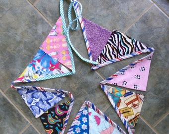 Fabric Bunting Banner Flags