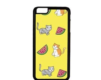 Cute Cat Phone Case, Cat iphone Case, Cat Samsung Phone Case, Phone Case, iphone Case, iphone 5 SE 6 7, Samsung Galaxy S7 S5 S6 S8, Cats