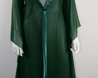 Evening dress with long jacket
