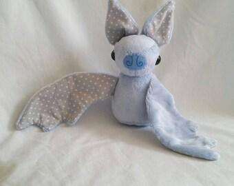 Blue Bat Plushie
