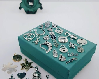 Add-On Charms for Expandable Charm Bracelet