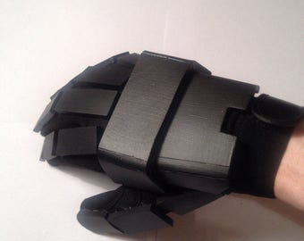 Genos Gloves Hands  Costume Steampunk Robotic Mechanical Accessory One Punch Man Anime Manga Cyborg Suit Cosplay Foam Armor Costume Gloves