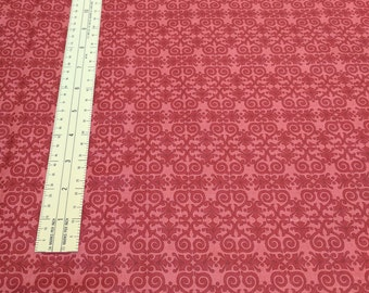 Life is Beautiful-Red Fabric from Red Rooter Fabrics