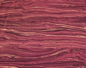 Artisan Sandscapes-Dark Red Cotton Fabric (20474) from Northcott Studios