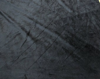 Velboa-Black-Polyester Fabric from Fabri-Quilt