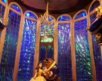 Beauty and the Beast Disney Inspired Tale as Old as Time Shadow Box
