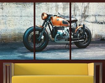 Large BMW Motorbike Canvas Set BMW Wall Art Motorcycles Wall Art Motorcycle Canvas Art Motorcycle Print Motorcycle Poster Moto Photo BMW Art