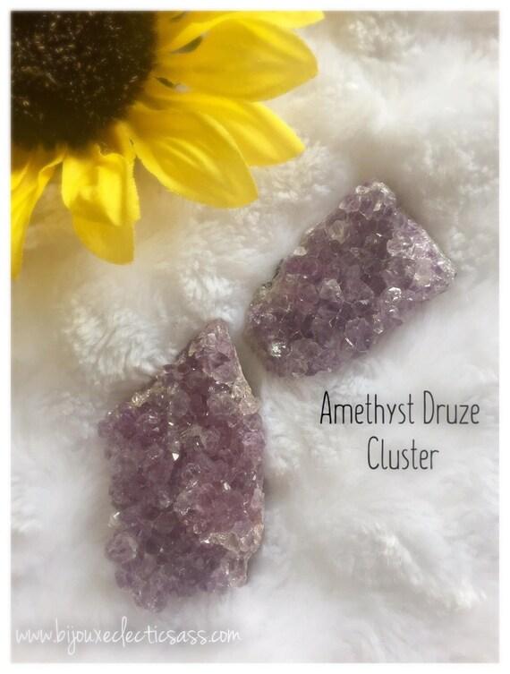 Amethyst Druzy Cluster