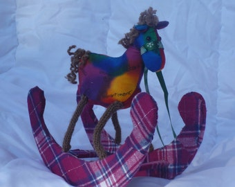 small decorative item rocking horse