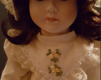 BRINNS Collectible 1988 Porcelain Doll
