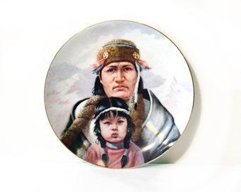 Gregory Perillo Chippewa Nation Plate by BigMuddyVintageShop